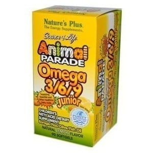 Nature s plus animal parade omega 3 6 9