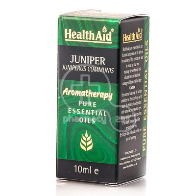 HEALTH AID - AROMATHERAPY Pure Essential Oil Juniper - 10ml