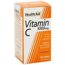 Health Aid Vitamin C 1000mg Chewable 100tabs