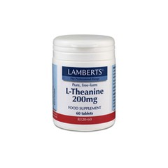 Lamberts L-Theanine 200mg 60 ταμπλέτες