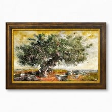 Olive tree painting 367 39  65x40