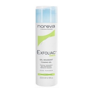 Noreva exfoliac foaming gel 200ml