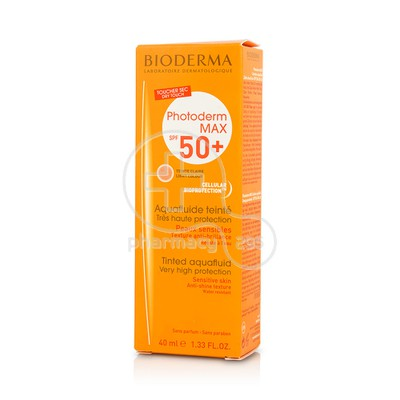 BIODERMA - PHOTODERM MAX Aquafluide Teinte Clair SPF50+ - 40ml