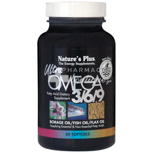 Nature's Plus ULTRA OMEGA 3/6/9, 60 softgels