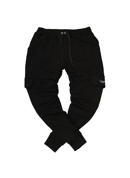 CLVSE SOCIETY BLACK POCKET PANTS