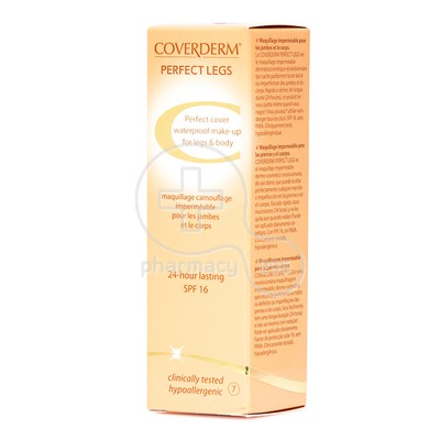 COVERDERM - PERFECT LEGS SPF16 (No7) - 50ml