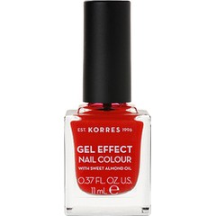 Korres Gel Effect Nail Colour 48 Coral Red