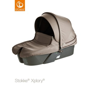 Stokke Xplory Carry Cot  Brown