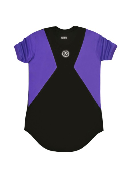 VINYL ART CLOTHING PURPLE INSPIRED LOGO T-SHIRT