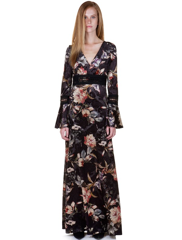 faef25b8a5b Share. ΠΕΡΙΓΡΑΦΗ. Maxi εμπριμέ φόρεμα με τύπωμα ...