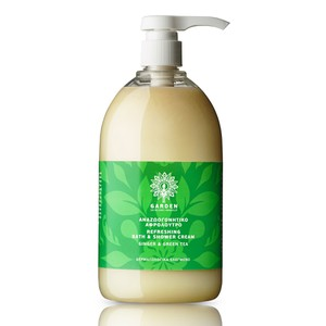 Refreshing bath   shower cream ginger   green tea