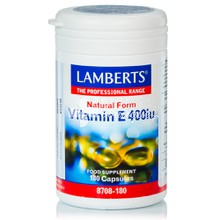 Lamberts Vitamin E Natural 400iu, 180caps