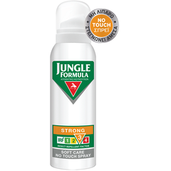 Jungle Formula Strong Soft Care No Touch Spray - Αντικουνουπικό Σπρέι, 125ml