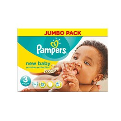 Pampers New Baby Midi Diapers Size 3 (4-9kg) 74 picies
