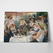 Luncheon of the boating party renoir a