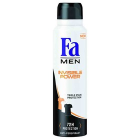 FA ΑΠΟΣΜΗΤΙΚΟ SPRAY MEN INVISIBLE POWER 150ml