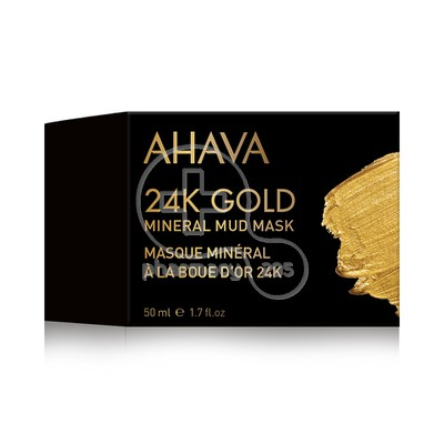 AHAVA - 24K GOLD Mineral Mud Mask - 50ml