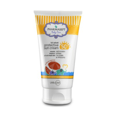 PHARMASEPT - Baby Care Tol Velvet Protective Sun Cream SPF50+ - 150ml