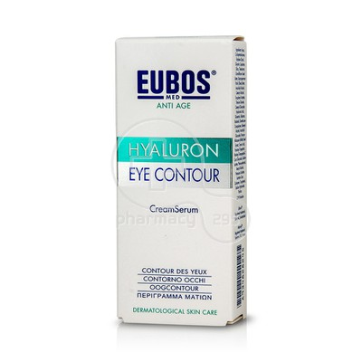 EUBOS - HYALURON EYE CONTOUR CREAM/SERUM - 15ml