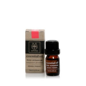 Apivita essential oil rose geranium skin tonic 5ml