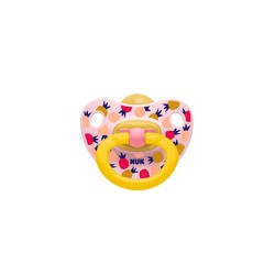 Nuk Classic Happy Kids Orthodontic Rubber Soother 6-18m 1 picies
