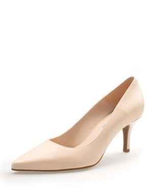STYLISH MEDIUM HEEL PUMP