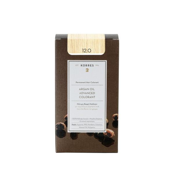 KORRES ΒΑΦΗ 12.0 ARGAN OIL COLORANT