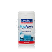 LAMBERTS - MagAsorb Magnesium (as Citrate) 150mg - 60tabs