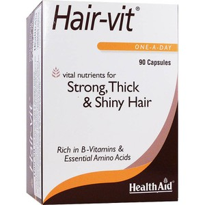 HEALTH AID Hair-vit 90caps
