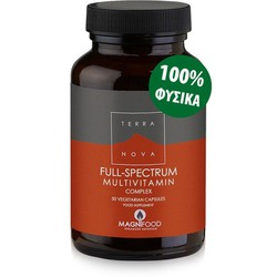 Terra Nova Full-Spectrum Multivitamins Complex 50caps