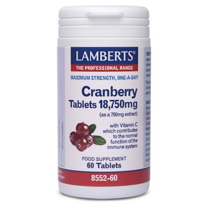 LAMBERTS Cranberry 18,750mg 60ταμπλέτες
