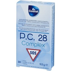 Cosval P.C.28 Complex 30 Chewable tabs