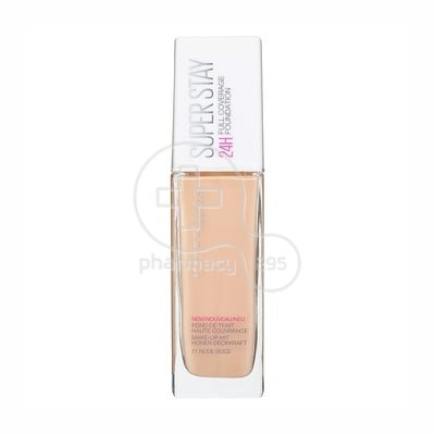 MAYBELLINE - SUPERSTAY Full Coverage Foundation No21 (Nude Beige) - 30ml