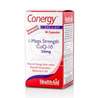 HEALTH AID - CONERGY Mega Strength CoQ-10 30mg - 90caps