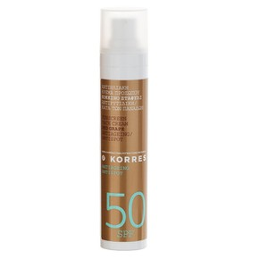 Korres suncare red grape spf50