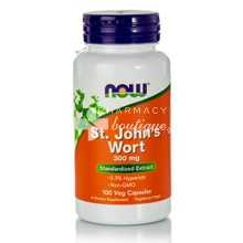 Now St. John's Wort 300mg Extract - Κατάθλιψη, 100 veg. caps