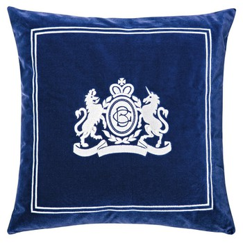 Velvet Pillow in Royal Blue Colour