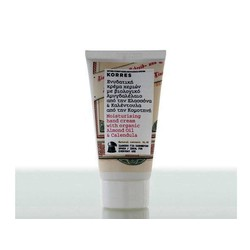Korres Organic Hand Cream with Almond & Calendula 75ml