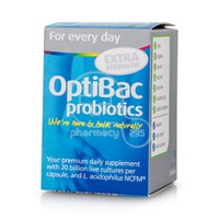 OPTIBAC - PROBIOTICS For Every Day Extra Strenght  - 30caps