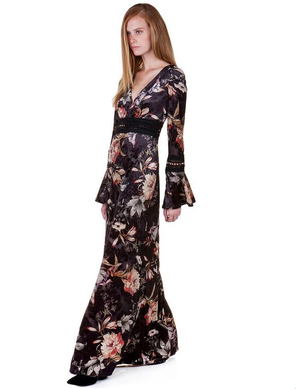 c508f14cc0d Maxi floral φόρεμα - Toi&moi