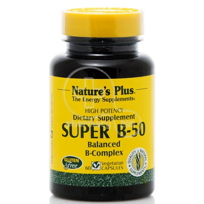 NATURE'S PLUS - SUPER B-50 Balanced B-Complex - 60 caps