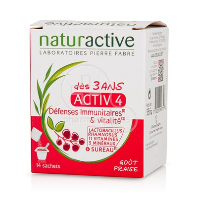 NATURACTIVE - ACTIV 4 Junior - 14sachets