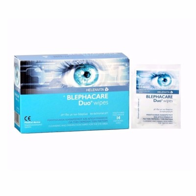 Helenvita - Blephacare duo wipes - 14 pcs