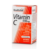 HEALTH AID - Vitamin C 500mg - 60chew.tabs