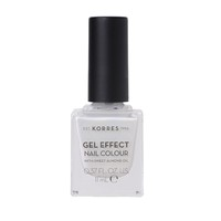 KORRES NAIL COLOUR GEL EFFECT (WITH ALMOND OIL) No11 COCONUT SMOOTHIE 11ML