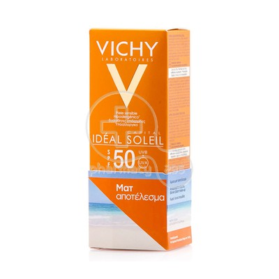 VICHY - IDEAL SOLEIL SPF50 Ματ Αποτέλεσμα - 50ml Oily/Combination skin