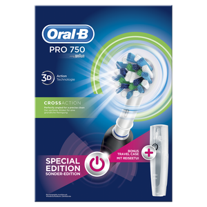 Oral b pro 750 black         . box 1x1 80271519 4210201137177