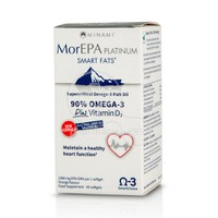 MINAMI - MorEPA Platinum Smart Fats 90% Supercritical Omega-3 Fish Oil - 60softgels