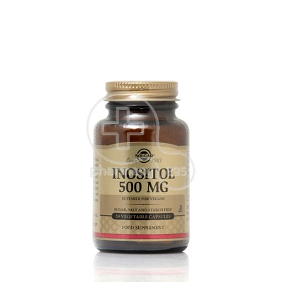 SOLGAR - Inositol 500mg - 50caps