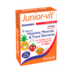 HEALTH AID Junior-vit one-a-day 30 chewable tabs
